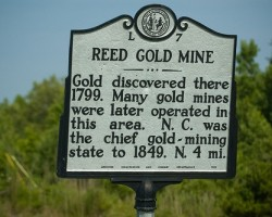 A Golden Christmas at Reed Gold Mine