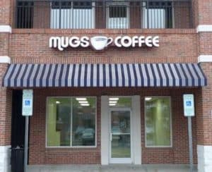 mugs coffee building