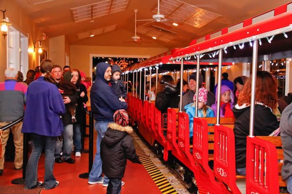 Kannapolis' Festival of Lights starts this weekend. This train ride is just $2. Everything else is free.