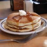 Free pancakes at IHOP