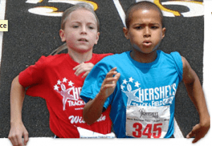 Hershey's track and field