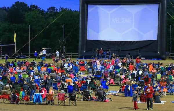 free summer outdoor movies kids