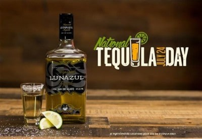 Get National Tequila Day Deals On July 24 Charlotte On