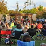 Outdoor concerts and movies at Promenade on Providence