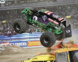 Win 4 tickets to Monster Jam
