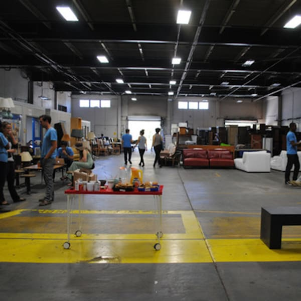 Open Warehouse at Move Loot