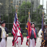 Meck Dec Day--muskets and cannons, fife and drums