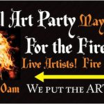 Free at Elemental Art Party: Fire performances and free beer