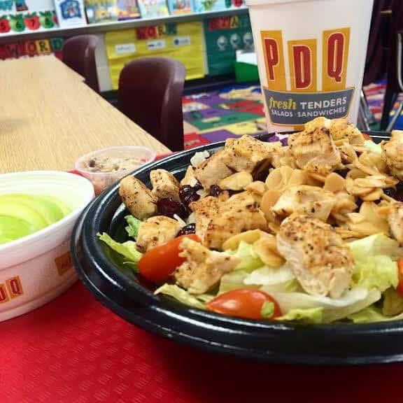 Teacher Appreciation Day free meal