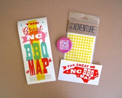 Last day to enter: Win Great NC BBQ Map Prize Pack