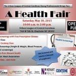 Free prescription eyeglasses at health fair