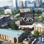 Free Pops concert in South End