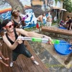 Cool off at Squirt Day Party at Snug Harbor