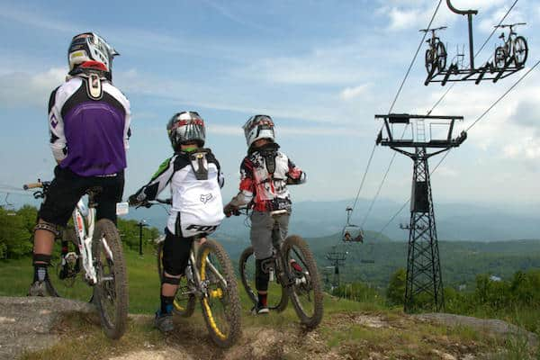 downhill mountain biking beech mountain