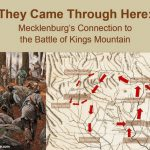 Free history program about Battle of Kings Mountain