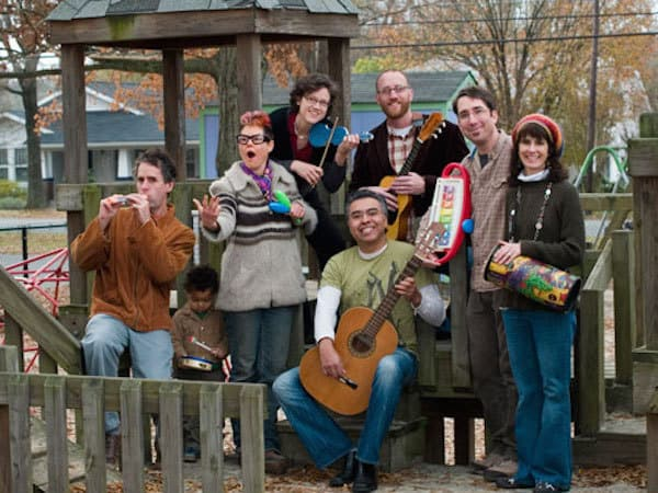 Plaza Family Band will perform at Plaza Midwood Library's 20th Anniversary Celebration Saturday