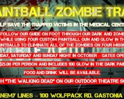 Get 50 extra paintballs to hunt zombies