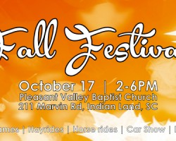 Free fall festival in Indian Land includes free food, hayrides, more
