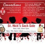 Gift consignment sale: St. Nick's Sack Sale