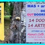 Doors Outdoors at Mama's Coffee House in Pineville