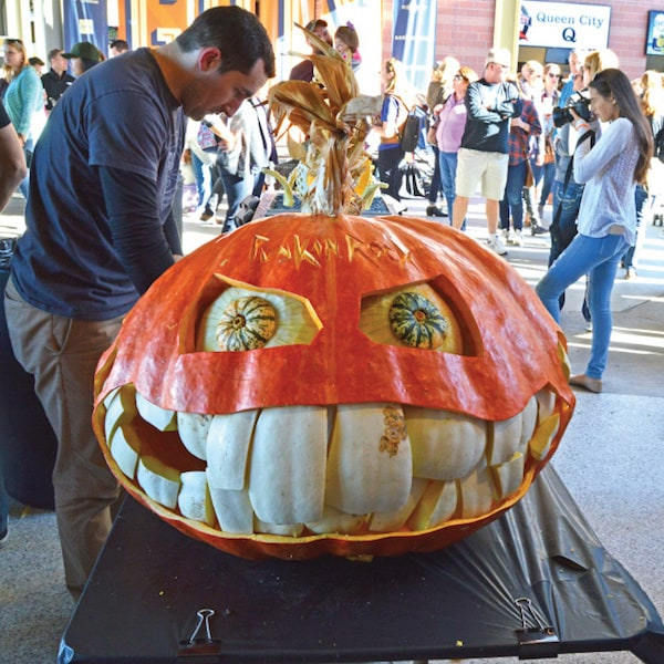 guts pumpkin carving contest charlotte