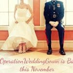 Free wedding gowns for some military members and brides