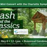 Free Charlotte Symphony concert at UNC Charlotte Botanical Gardens