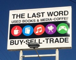 Big sale at The Last Word--extra discount for teachers