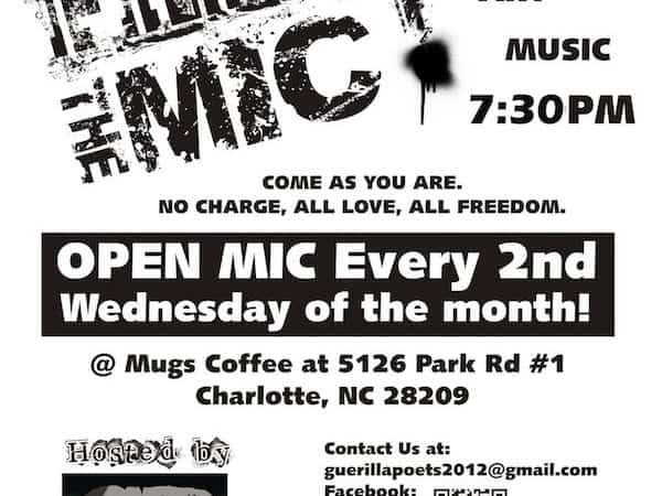 Guerilla Poets Open Mic At Mugs Coffee Love Stinks Edition