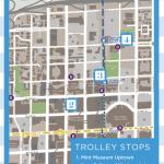 uptown crawl trolley map