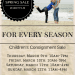 27 Charlotte Spring Consignment Sales 2017