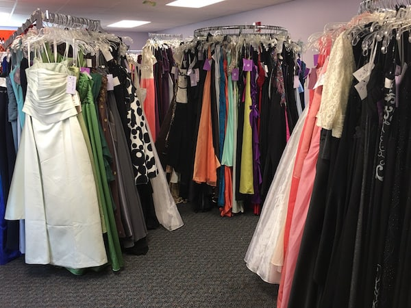 Free prom dresses and more at Lydia\'s Loft Prom Closet - Charlotte ...