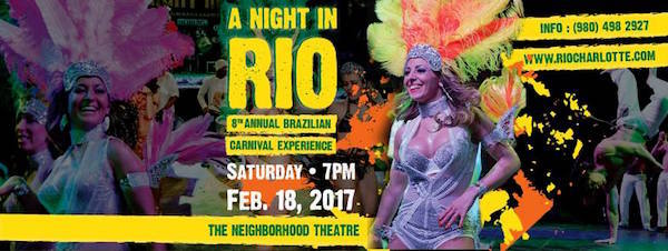 "Presidents Day Car Sales 2017 >> Brazilian Carnaval Parade in NoDa before ""A Night in Rio"" - Charlotte On The Cheap"