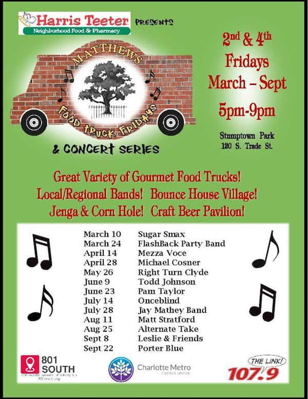 Food Truck Friday Charlotte Nc Schedule