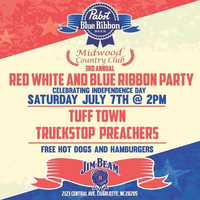 Free Red White And Blue Ribbon Party At Midwood Country