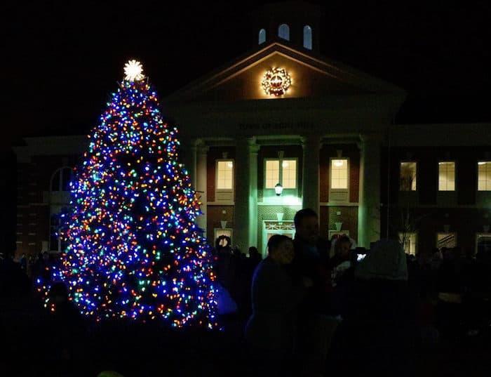 mint hill christmas tree lighting - Cheap Christmas Trees Near Me