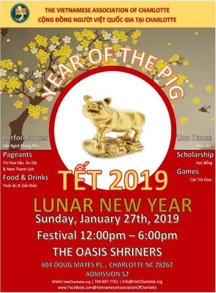 Tet Festival Vietnamese New Year Celebration Charlotte On The Cheap
