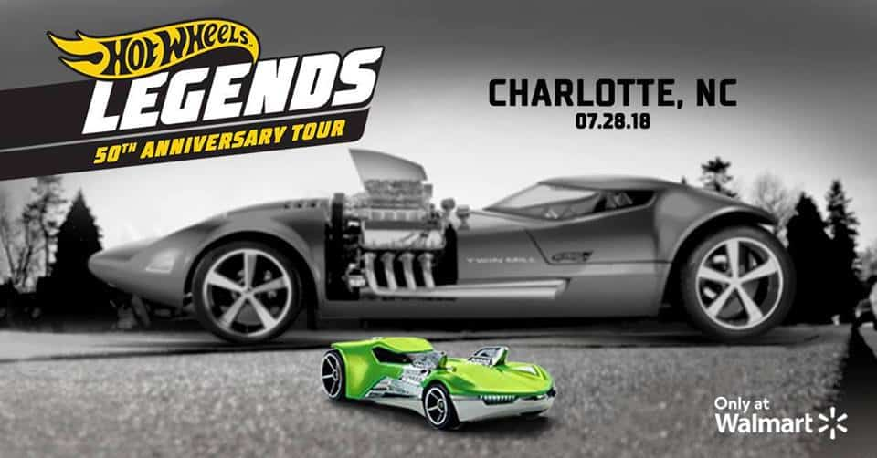 Hot Wheels Legends Tour Charlotte Cheap Walmart 11145 Bryton Town