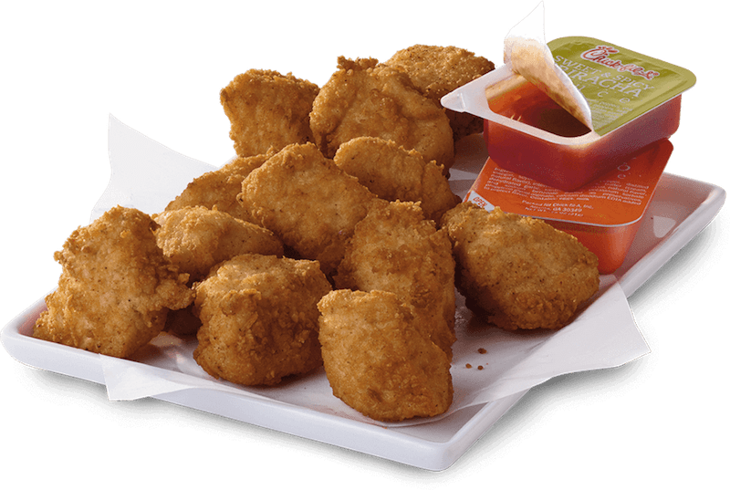 chick-fil-a free chicken nuggets