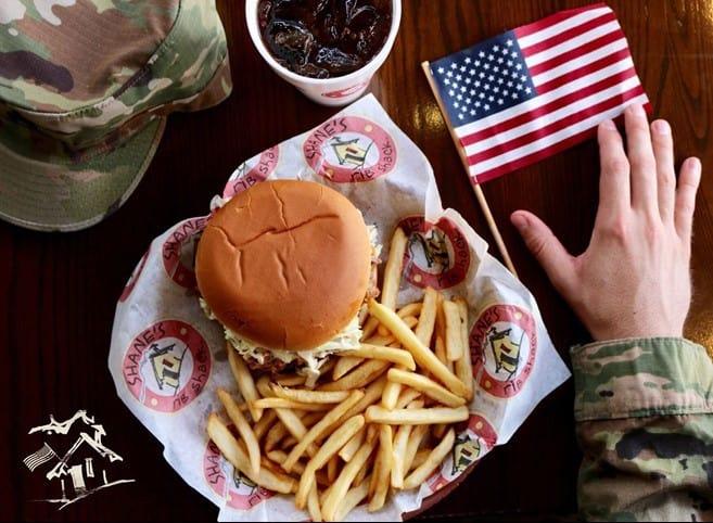 shane's ribshack veterans day
