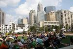 Romare Bearden Park's Wednesday night music series