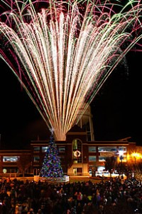 Concord NC Christmas fireworks
