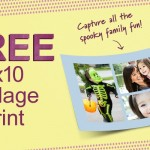 Free 8x10 collage print from Walgreens