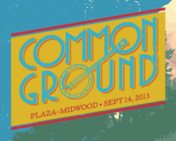 Common Ground music festival in Plaza Midwood