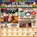 Free Halloween activities for kids at Bass Pro Shops