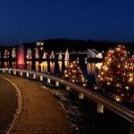 McAdenville tree lighting & Yule log festivals