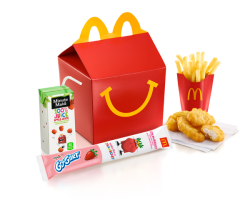 Win McDonald's Happy Meals for your child's entire class