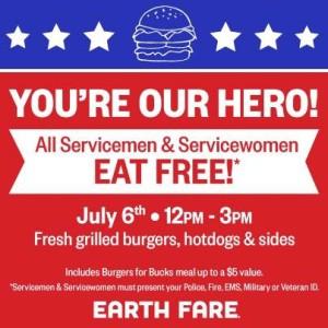 earth fare 4th of july