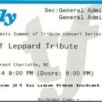 Free tickets to Hysteria -- a Def Leppard tribute concert