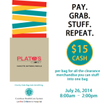 Fill a bag for $15 at Plato's Closet